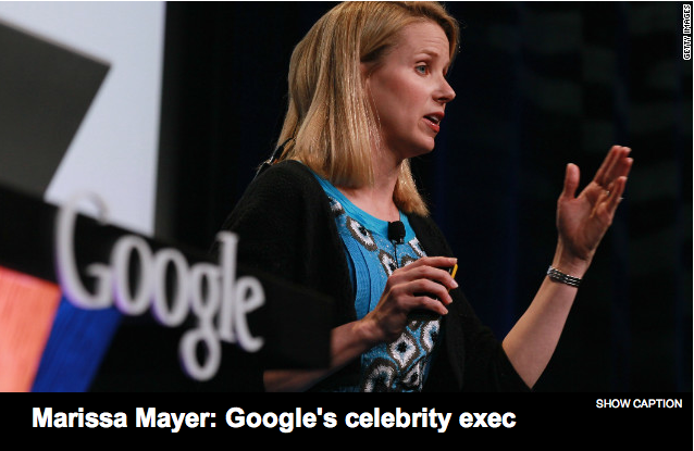 Google's Marissa Mayer is Now Yahoo's CEO