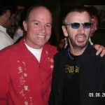 Kevin Allyn and Ringo Starr