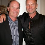 Kevin Allyn and Sting