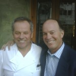Wolfgang Puck and Kevin Allyn