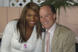 Serena Williams and Kevin Allyn