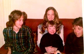Barbara and her brothers