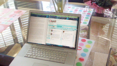 Laptops, iPads, Day Blogging and A Nocturnal Genius