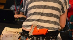 A Solo Girl Competes in Scavenger Hunt at DefCon 20
