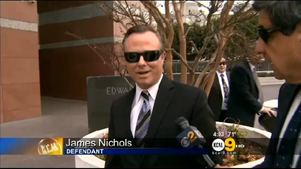 LAPD Officer James Nichols