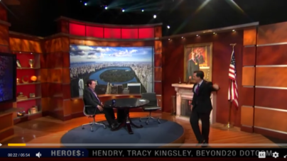 Kevin Mitnick Interview on Steven Colbert